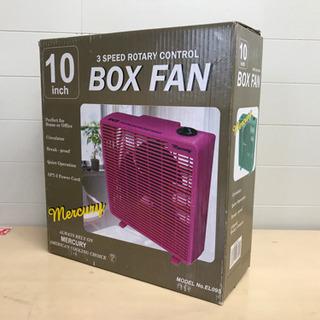 未使用BOXファン ピンク色