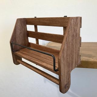 木製タオルハンガー