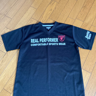 新品タグなしメンズ黒色Tシャツ