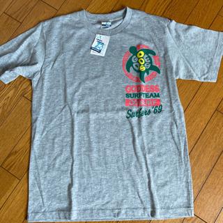 新品タグ付きメンズTシャツ 色グレー