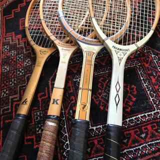 木製テニスラケット 1本あたり ★@500円のまとめ割あり