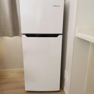 2017年製 ハイセンス冷凍冷蔵庫 120L