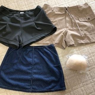 ショートパンツ スカート