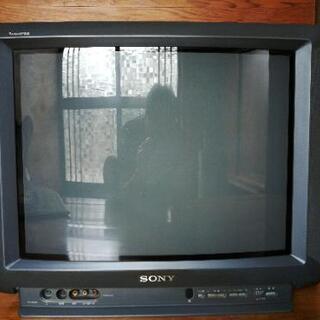 テレビ21型ソニー製ブラウン管と地デジチューナー