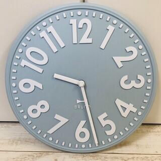 ◆◇【BRUNO 掛け時計】かけ時計 ライトブルー【北欧風】◇◆