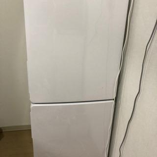 冷蔵庫 2つドア 148L