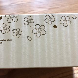 【新品】お洒落!桜のペアグラス