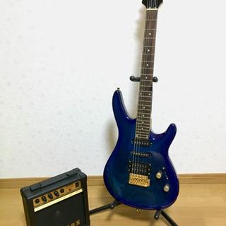 エレキギター、アンプ