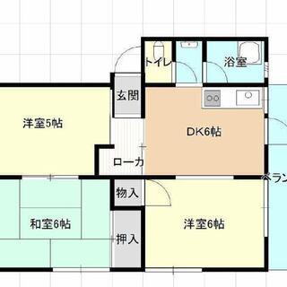 再投稿です。五十市中学校近く。4階建て。広い!安い!駐車場無料!