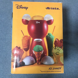 デロンギ ミッキーマウス かき氷機 美品