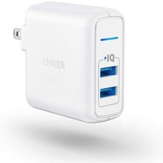 新品 Anker PowerPort 2 Elite 24W 2...