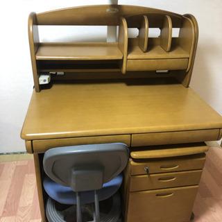 もらって下さい!イトーキ学習机・袖机&椅子を各2セット