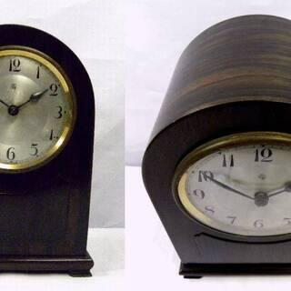 ◆メンテナンス済み 稼働品 年代物のAichi(アイチ)置き時計の画像