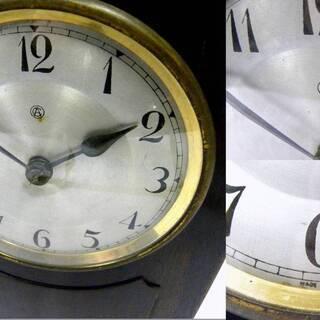 ◆メンテナンス済み 稼働品 年代物のAichi(アイチ)置き時計 - 熊谷市