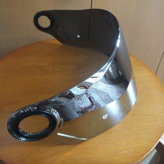 フルフェイスヘルメットのシールドです。新品未使用品