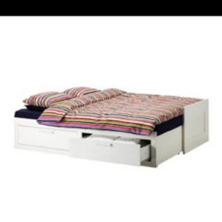 イケア デイベッド ダブルベッド シングルベッド