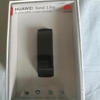 HUAWEI BAND 3 PRO BLACK スマートウォッチ