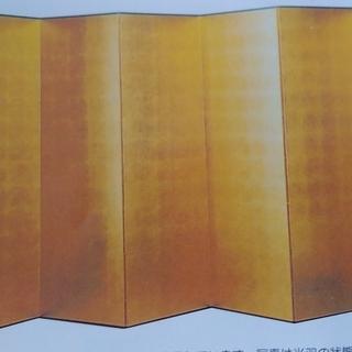 家具廃業展示格安 家具廃業 格安金屏風6枚折6尺. 約w60(×...