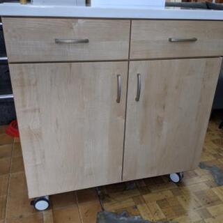 🌟価格見直し🌟キッチンボード キッチン収納 食器棚 幅80cm💳...