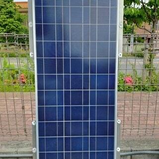 ソーラーパネル80wとチャージコントローラ セット