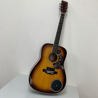 FLFOLK アコースティックギター EFG-350 スピーカー搭載