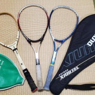 テニスラケット3本