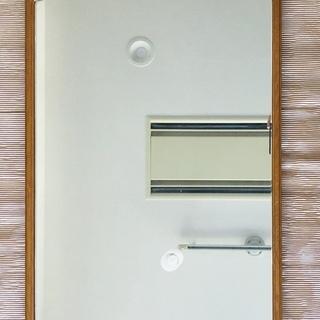 壁掛け鏡 木枠ミラー