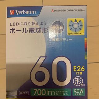 【未使用、新品】60形 E26口金 ボール電球