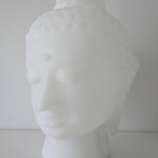 SLIDE Design:Buddha ランプ - 白い