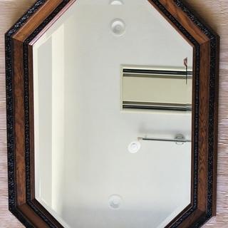 壁掛け鏡 ミラー 八角形