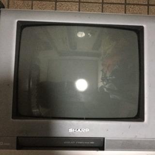 テレビデオ 差し上げます