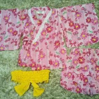 90cm女の子 浴衣ドレス