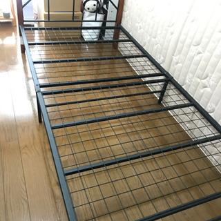 【ニトリ】シングルベッドとマットレスのセットです