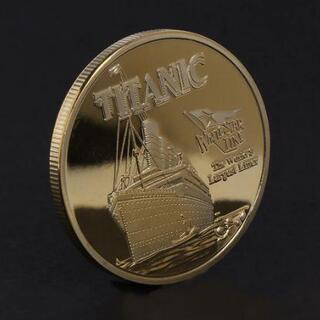 セール タイタニック ゴールドの豪華な記念コイン
