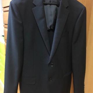 紳士★スリムスーツ 礼服 ブラックフォーマルにも YA5 超美品
