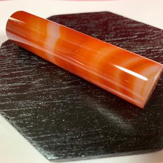 赤メノウ天然石18×76ミリ開運縁起物人気の赤瑪瑙最高品質 卸価...