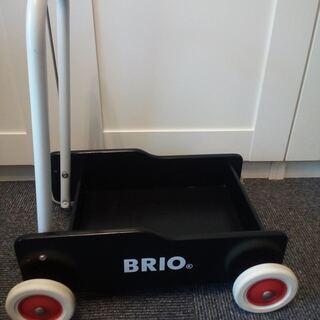 BRIO 手押し車 ブリオ おもちゃ入れ