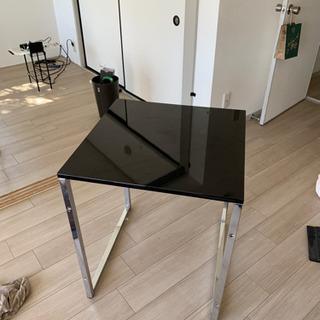 パソコンデスク 60cm幅 奥行60cm 光沢天板