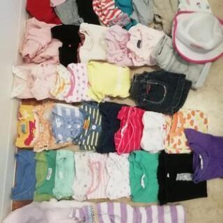 キッズ 女の子 子供服等 40点まとめ売り サイズ80