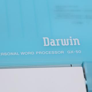 美品 CASIO カシオ Darwin ダーウィン GX-50 カラー液晶ワープロ(P797nxY) - 北見市