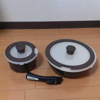 IH•ガス対応可能、炒め鍋•スープ鍋 7点セット セラミック