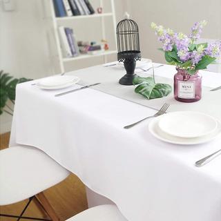 テーブルクロス ホワイト 白い布 - 新宿区