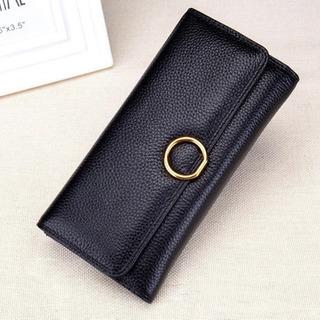 ボタン財布 新品