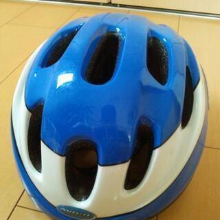 中古 ヘルメット キッズ用 青