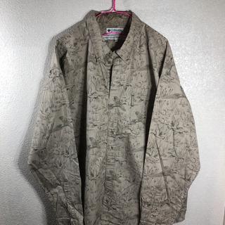 コロンビア ビッグシルエット デザインシャツ メンズXL
