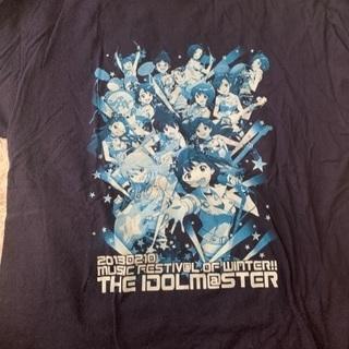 アイドルマスターTシャツ紺色