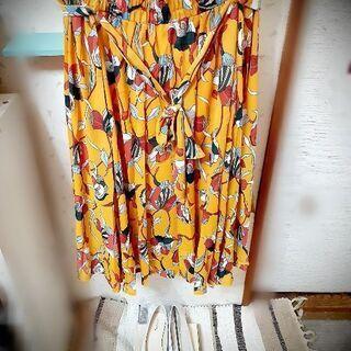 大きいサイズロングスカート