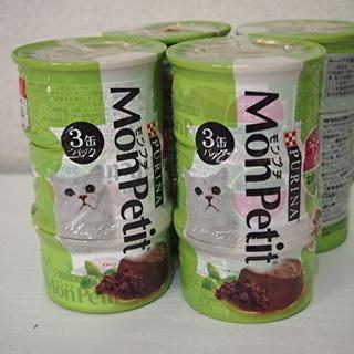 猫の缶詰ピュリナモンプチなめらか舌平目12缶