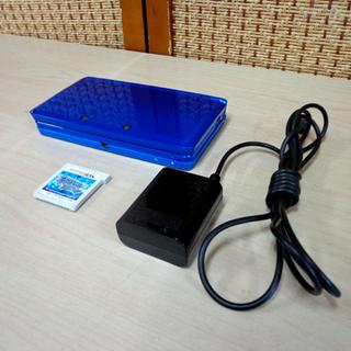 ニンテンドー 3DS 本体 コバルトブルー ゲームソフト付き