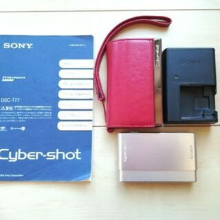 デジタルカメラ SONY Cybershot  DSC-T77